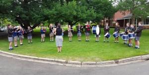 Ballarat Grammar School Opening Day